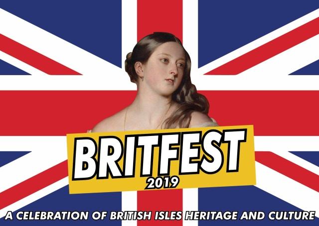 Britfest 2019 - A6 Postcard (front)